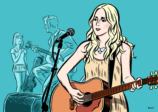 Country artist Ashley Monroe