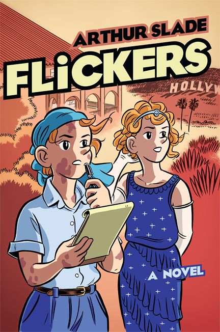 Cover of the novel Flickers