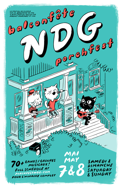 Poster for Porchfest